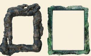 第三世多杰羌佛五明成就 工巧明之画框