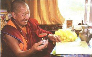 觉囊派总教主吉美多吉法王祝贺第三世多杰羌佛