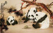 第三世多杰羌佛工巧明展显之中国画