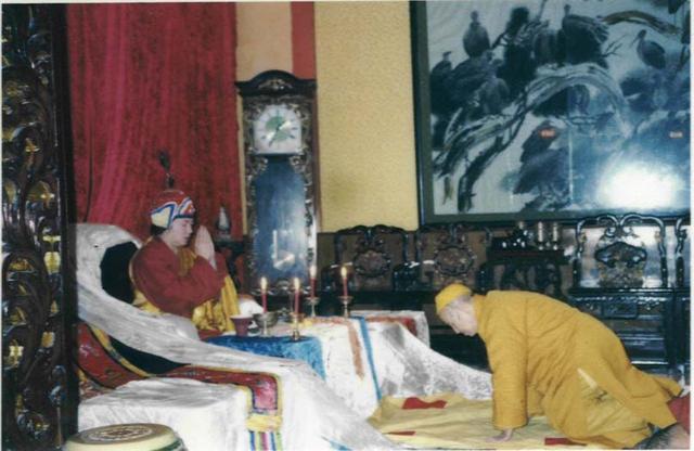 中国佛教第一高僧清定法师拜南无第三世多杰羌佛为师 第1张