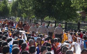 美国国会升国旗向世界佛教最高领袖H.H.第三世多杰羌佛致敬