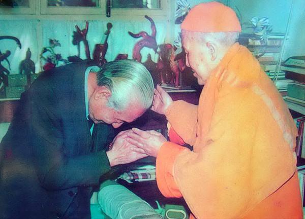 中国佛教第一高僧清定法师拜南无第三世多杰羌佛为师 第4张